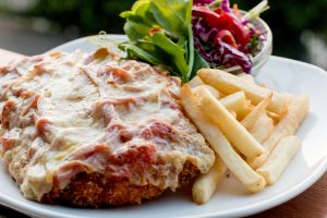 Schnitzel Night - $16.50 make it a parmie for FREE