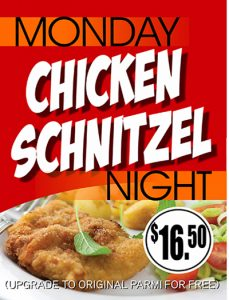 Monday Dinner Schnitzel